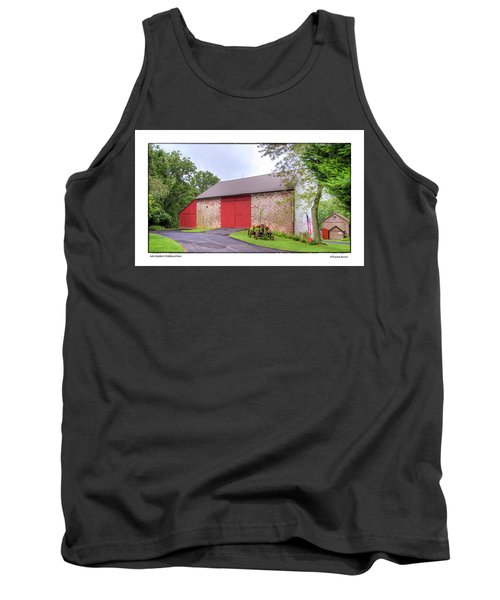 Tank Top featuring the photograph John Updike's Childhood Barn by R Thomas Berner