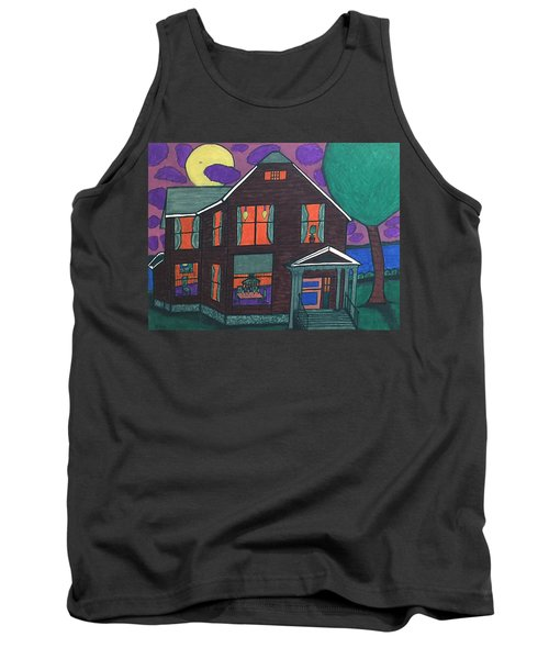 Tank Top featuring the painting John Wells Home. by Jonathon Hansen