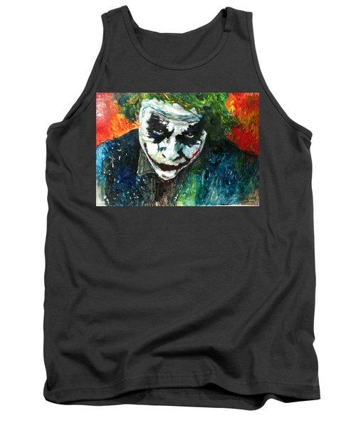 Joker - Heath Ledger Tank Top