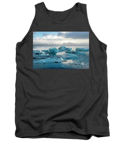 Jokulsarlon, The Glacier Lagoon, Iceland 6 Tank Top