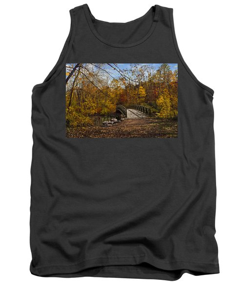 Jordan Park Bridge Tank Top by Judy Johnson