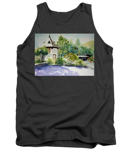 Jose Moya Del Pino Library At Marin Arts And Garden Center Tank Top by Tom Simmons