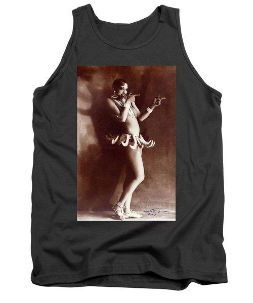 Josephine Baker Lucien Walery   Banana Skirt From The Folies Bergere Production Un Vent De Folie Tank Top