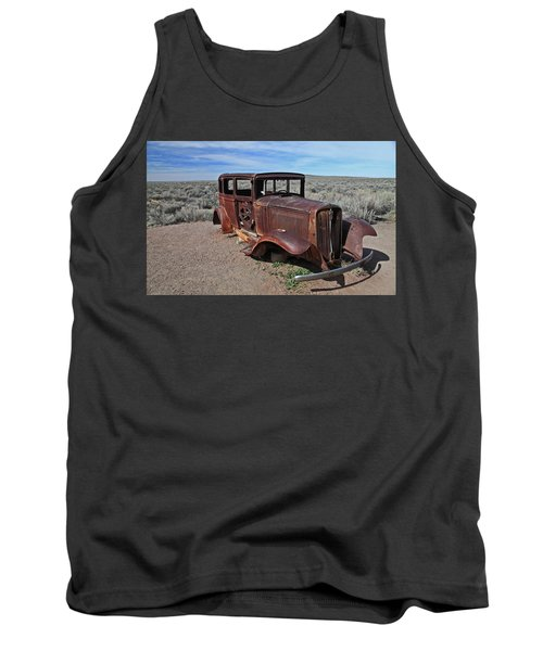 Tank Top featuring the photograph Journey's End by Gary Kaylor