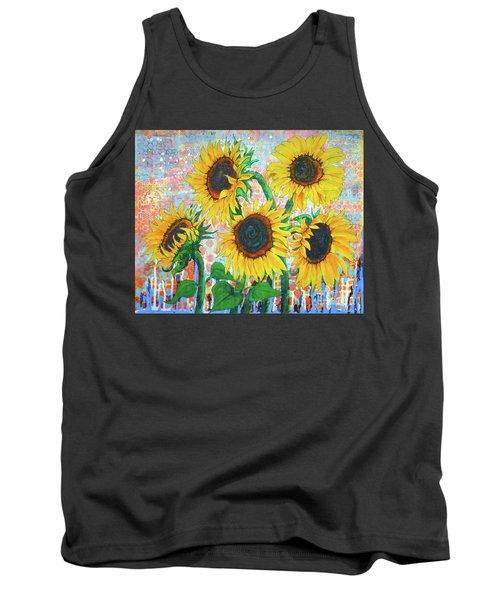 Joy Of Sunflowers Desiring Tank Top