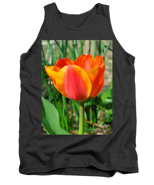 Joyful Tulip Tank Top