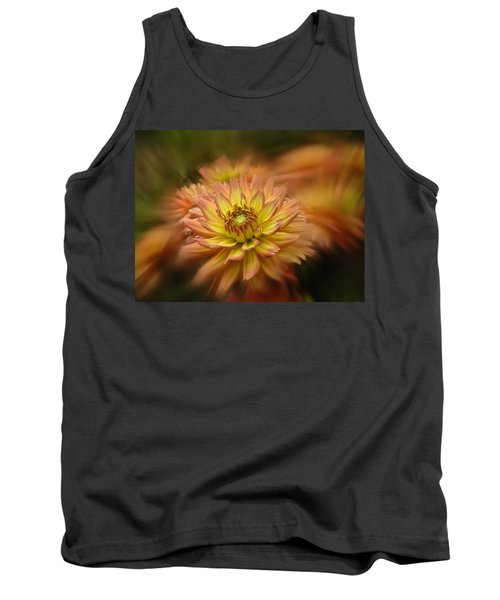 Tank Top featuring the photograph Juiy 2016 Dahlia by Richard Cummings