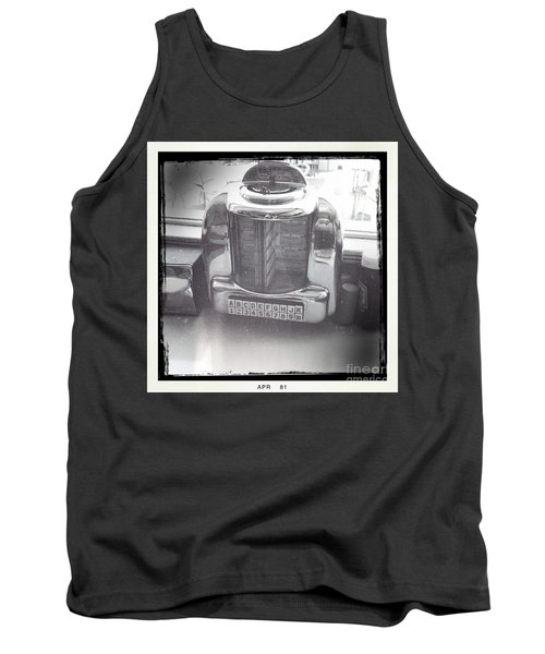 Tank Top featuring the photograph Juke Box by Nina Prommer