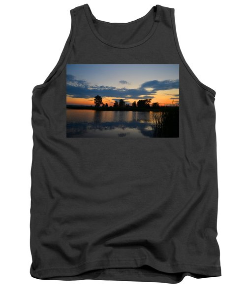 July Sunset Tank Top