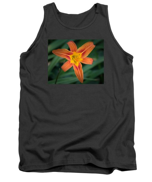 July Tiger Lily Tank Top by Kenneth Cole