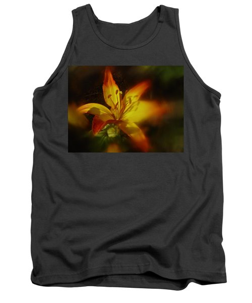 Tank Top featuring the photograph June 2016 Lily by Richard Cummings