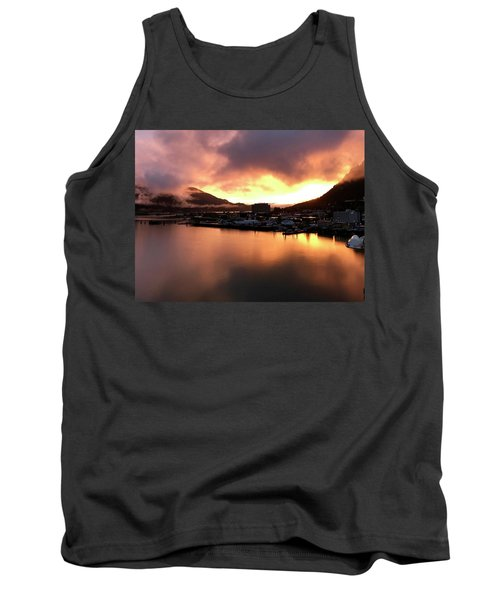 Juneau Sunset Tank Top