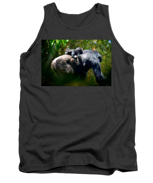 Jungle Baby Hitch Hiker Tank Top by Lori Seaman