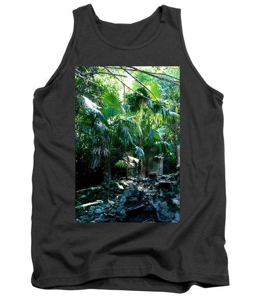 Jungle Sun  Tank Top by Robert Nickologianis