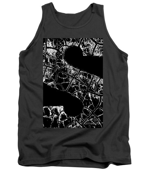 Tank Top featuring the photograph Just An S by Wendy Wilton
