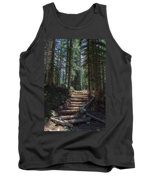 Tank Top featuring the photograph Just Another Stairway To Heaven by James BO Insogna