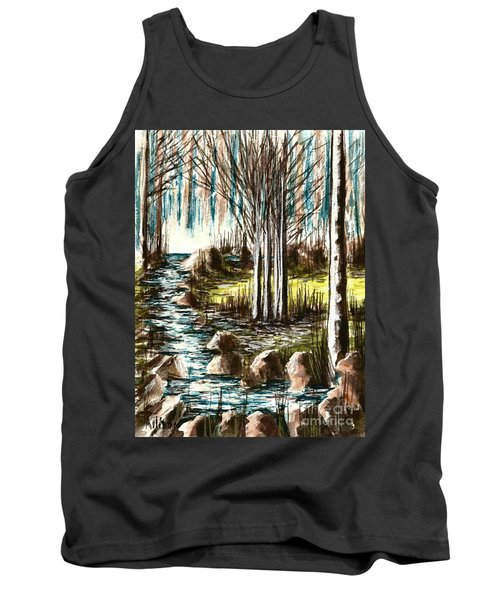 Just Around The Riverbend  Tank Top
