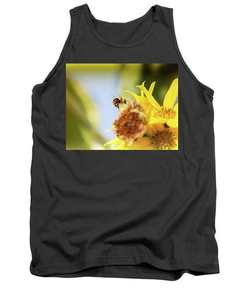 Tank Top featuring the photograph Just Beeing Me by Annette Hugen