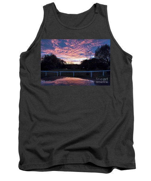 Just Had To Stop Tank Top by David  Hollingworth