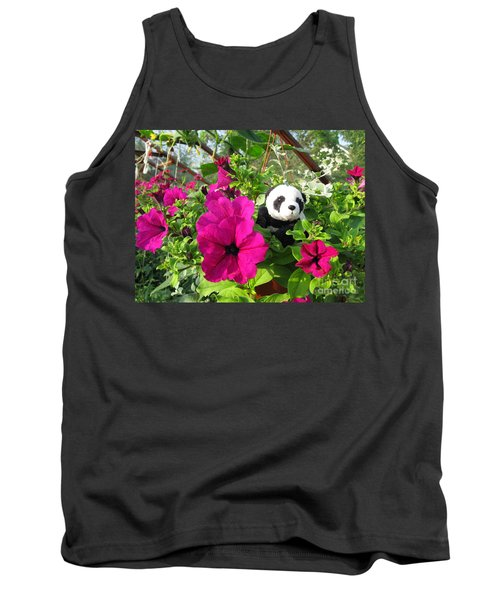 Tank Top featuring the photograph Just Hanging In There by Ausra Huntington nee Paulauskaite