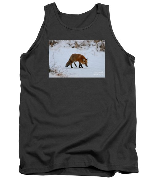 Just Hunting For Breakfast Tank Top by Sandra Updyke