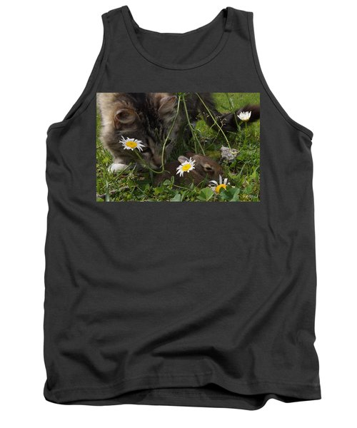 Just Say No Tank Top by Bill Stephens