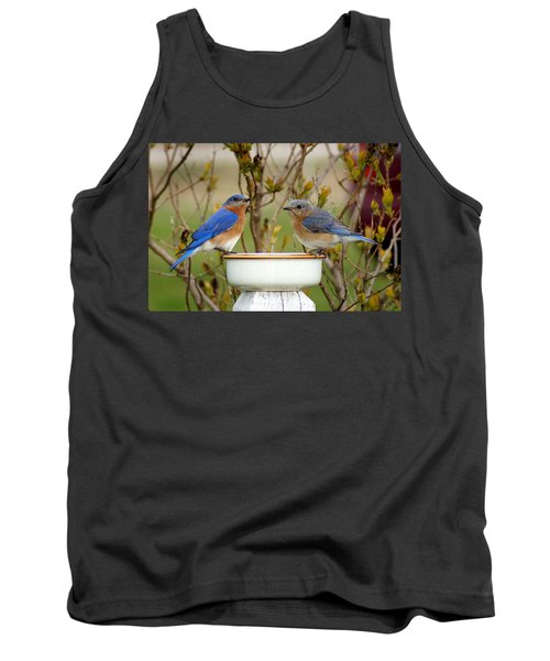 Just The Two Of Us Tank Top by Bill Pevlor