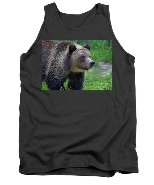 Juvie Grizzly Tank Top by Larry Nieland