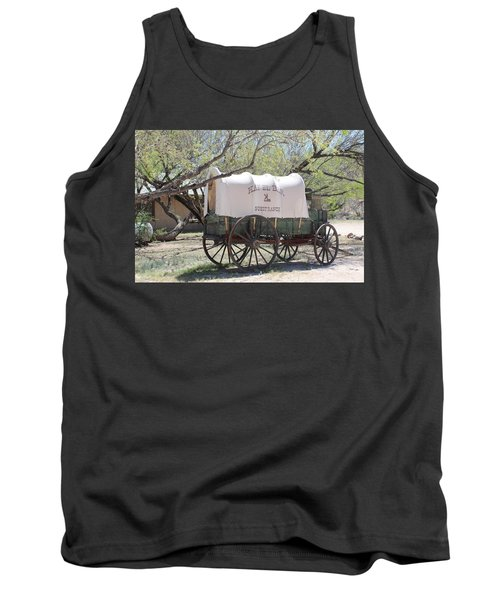 K L Bar Wagon Tank Top