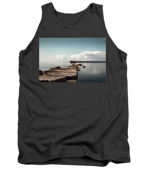 Kalamata Port / Greece Tank Top by Stavros Argyropoulos