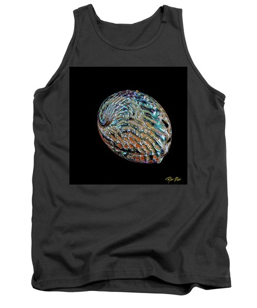 Tank Top featuring the photograph Kaleidoscope Abalone by Rikk Flohr