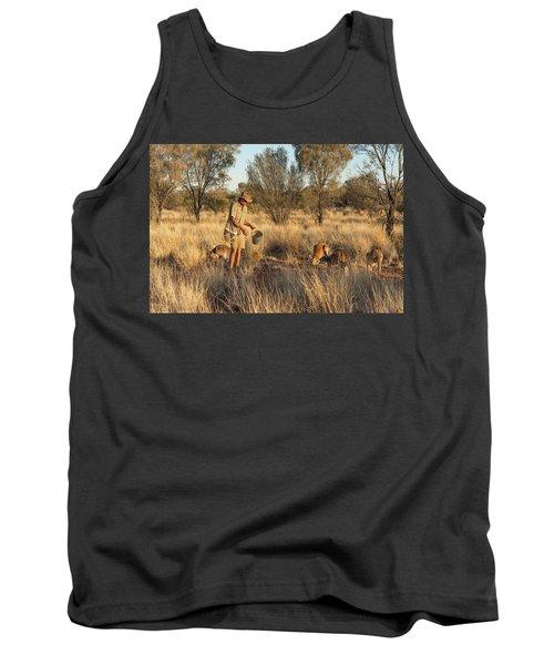Kangaroo Sanctuary Tank Top