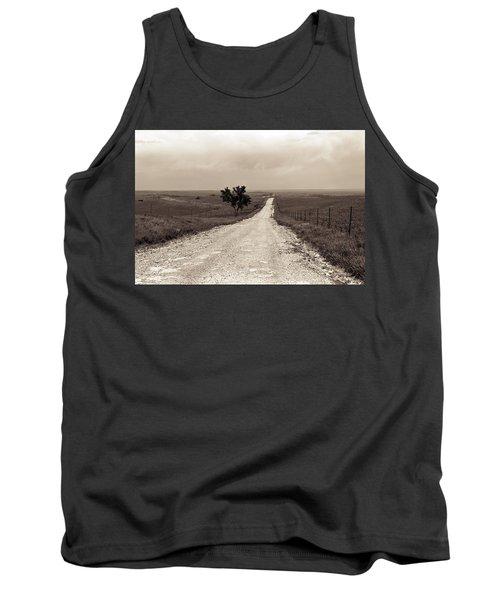 Kansas Country Road Tank Top