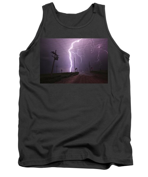 Kansas Lightning Tank Top