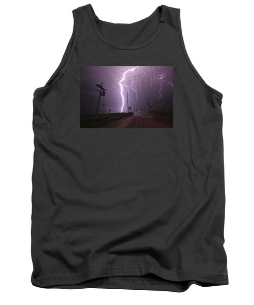 Kansas Lightning Tank Top