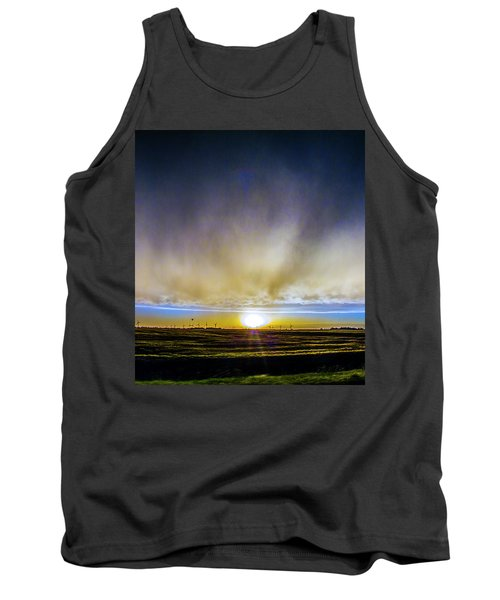 Kansas Storm Chase Bust Day 005 Tank Top
