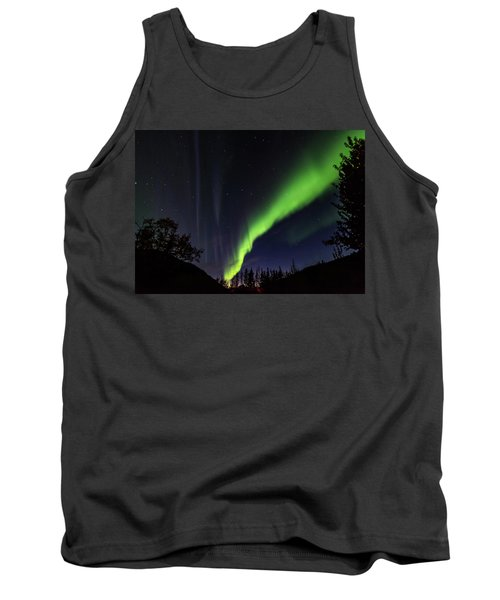 Kantishna Northern Lights In Denali National Park Tank Top by Brenda Jacobs