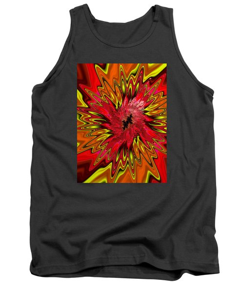 Tank Top featuring the photograph Kapowwie by Ronda Broatch