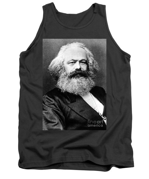 Karl Marx  German Politician Economist And Philosopher One Of The Authors Of Communist Pa Tank Top