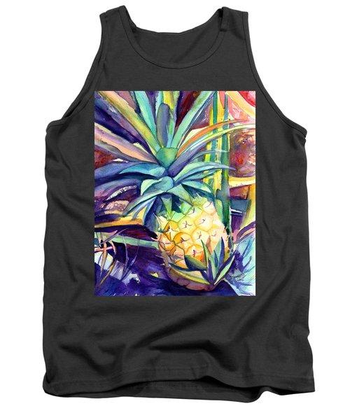 Kauai Pineapple 4 Tank Top