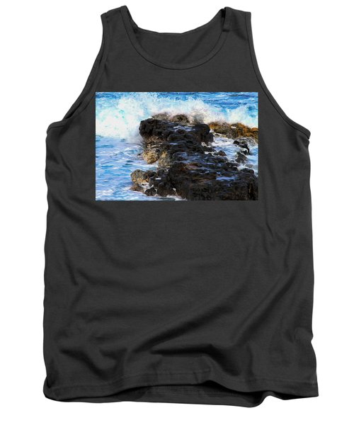 Kauai Rock Splash Tank Top