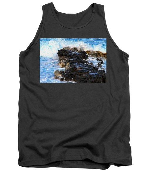 Kauai Rock Splash Tank Top