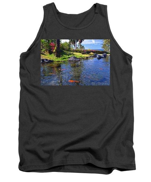 Kauai Serenity Tank Top by Marie Hicks