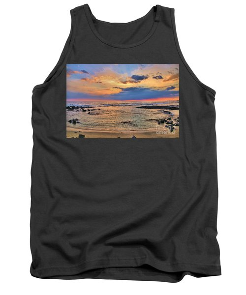 Tank Top featuring the photograph Keahuolu Point by DJ Florek