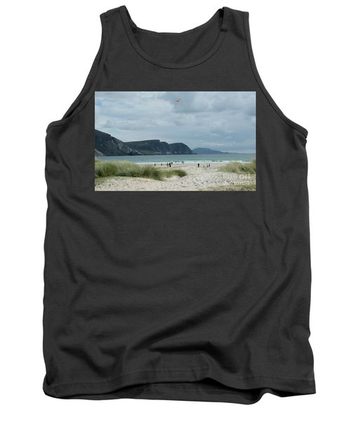 Keel Beach Achill  Tank Top