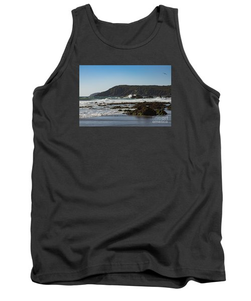 Tank Top featuring the photograph Kennack Sands by Brian Roscorla
