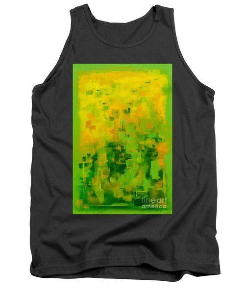 Tank Top featuring the painting Kenny's Room by Holly Carmichael