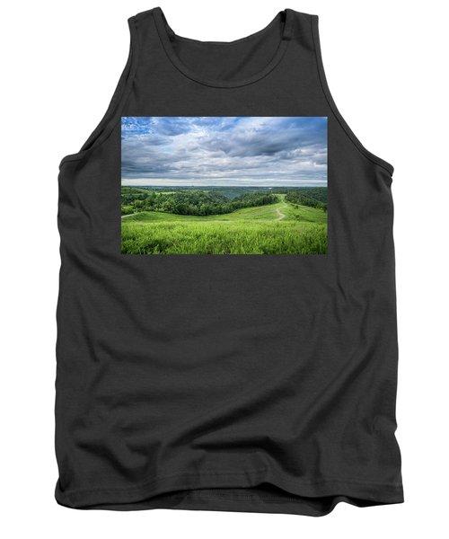 Kentucky Hills And Clouds Tank Top