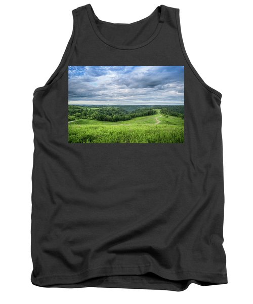 Kentucky Hills And Clouds Tank Top
