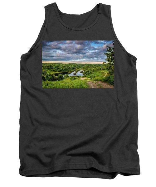 Kentucky Hills And Lake Tank Top